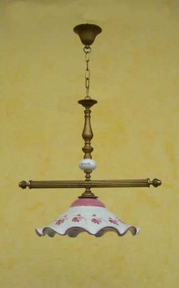 LAMPADARIO FLORES